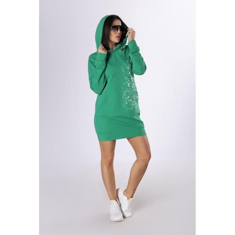 Sportinio stiliaus suknelė